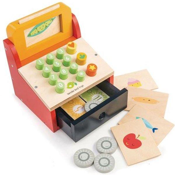Tender Leaf Toys - Kasse mit Geld für Kinder