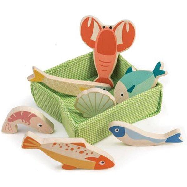 Tender Leaf Toys - Fischkiste für Kinder