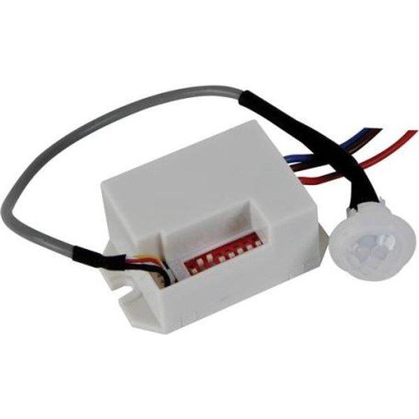 Mini détecteur de mouvements pir à encastrer 12 vcc