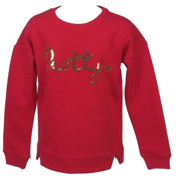 Sweat Name it Pretty jester red sw g Rouge taille : 7à8AN réf : 12422