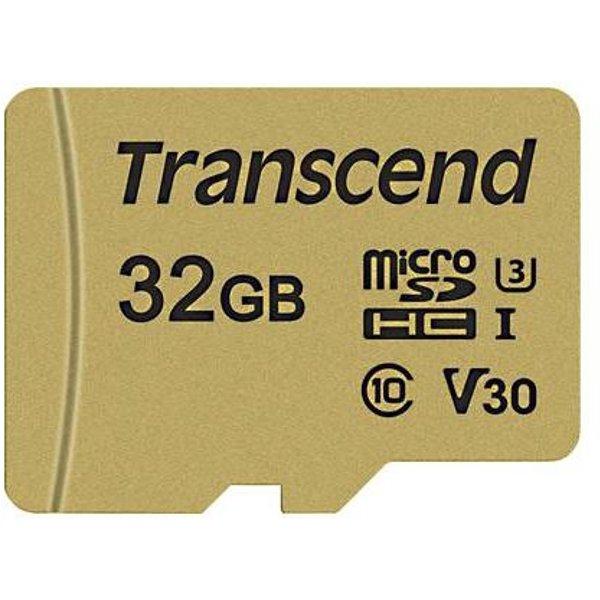 Transcend microSDHC 500S 32GB Class 10 UHS-I U