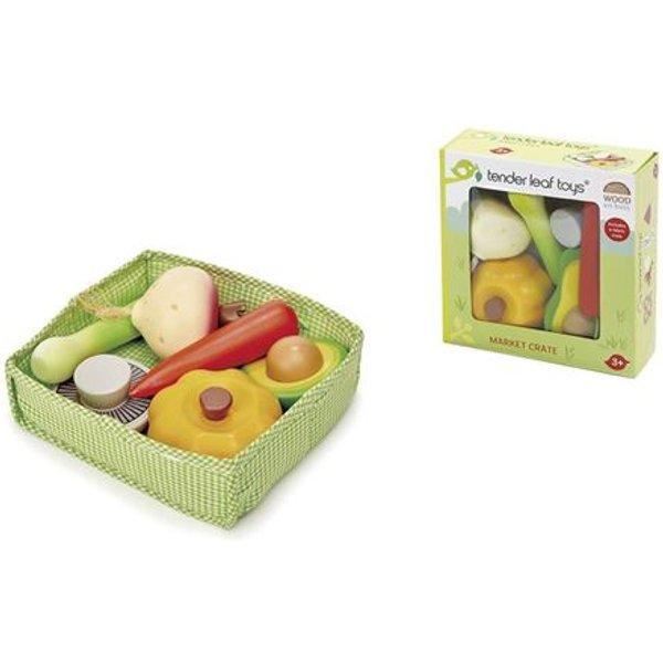 Tender Leaf Toys - Gemüsekiste für Kinder