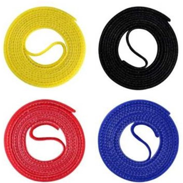 4 LABEL THE CABLE Klettbänder ROLL STRAPS farbsortiert