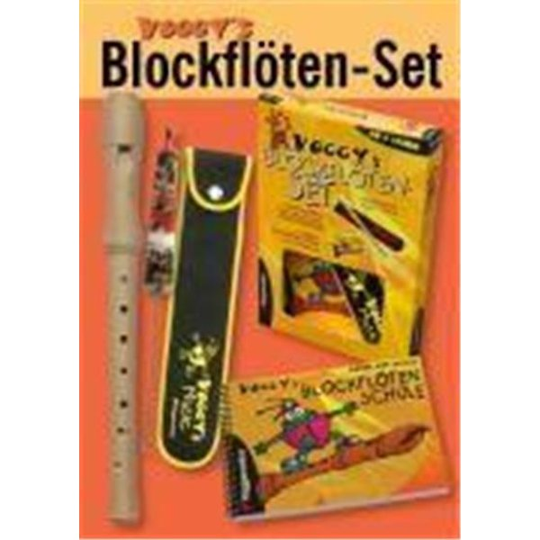 Voggy´s Blockflöten-Set