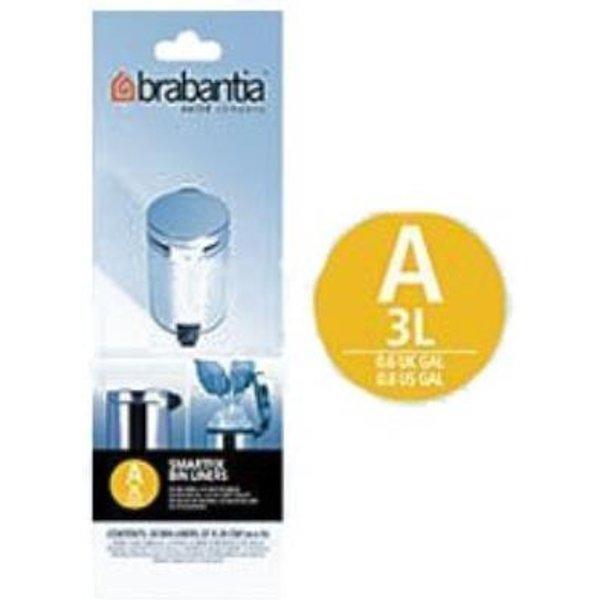 Brabantia Bin Liners PerfectFit Bin Bags  3L (Code A)