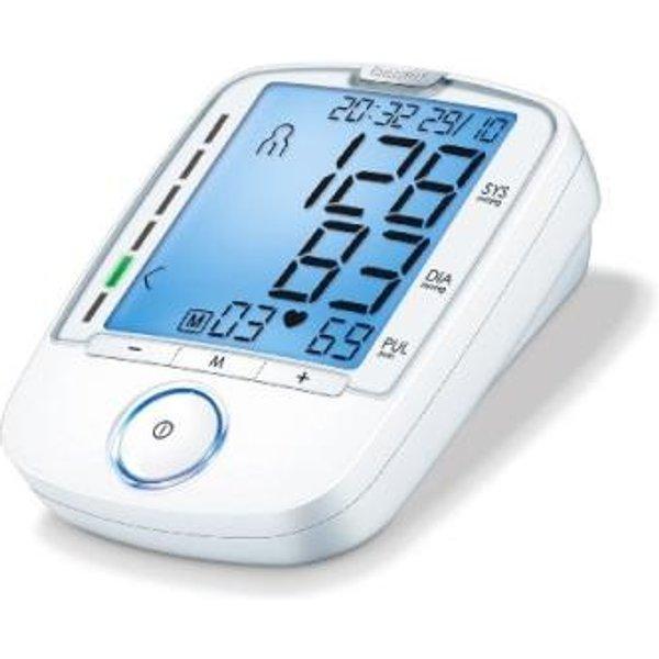 Beurer BM 47 - Blutdruckmessgerät (Weiss) (66020)