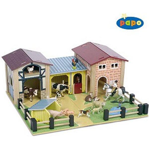 Le Toy Van - Bauernhofset aus Holz