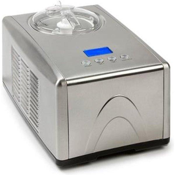 DOMO DO9066I - Machine à crème glacée (Argent)