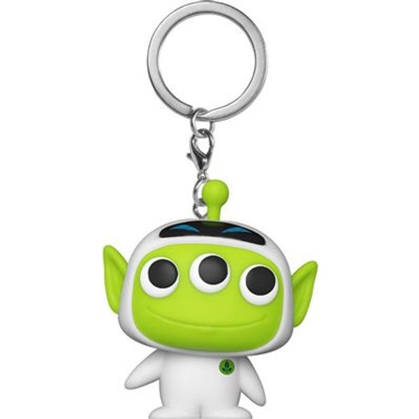 Disney Pixar Alien as Eve Pop! Keychain