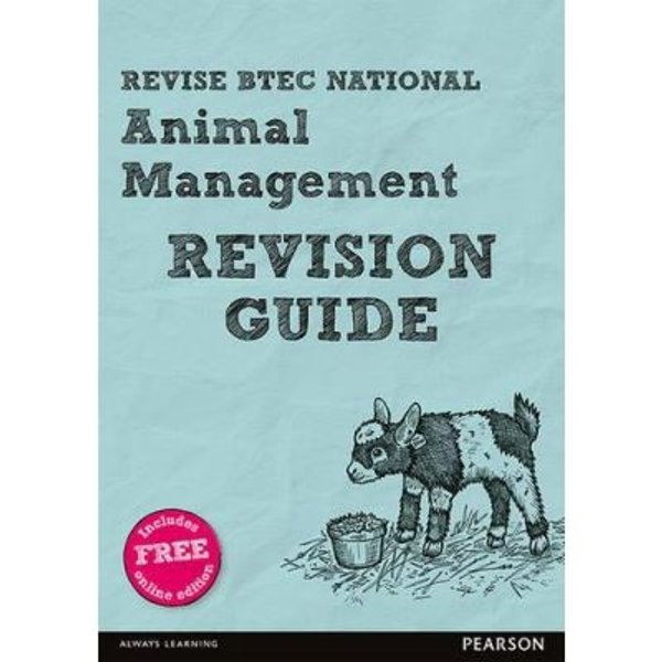 Revise BTEC National Animal Management Revision Guide