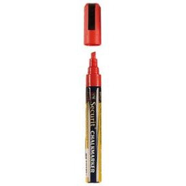 Marqueur craie 6mm rouge