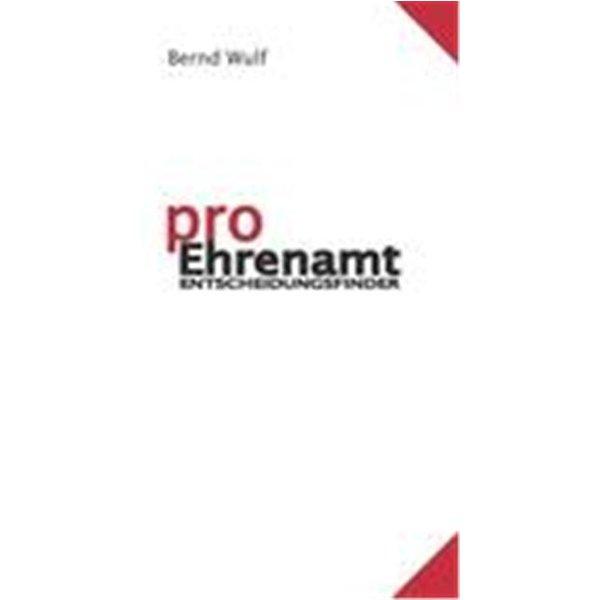 Wulf, Bernd: pro Ehrenamt