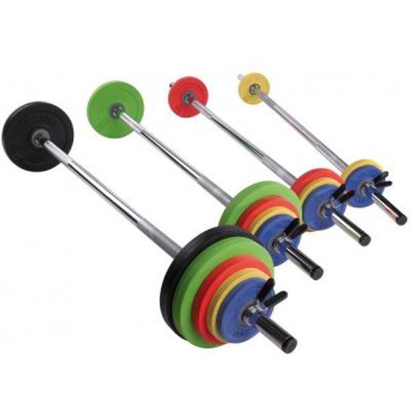 Sveltus Kit Fit'us Langhantel-Set, 26 kg
