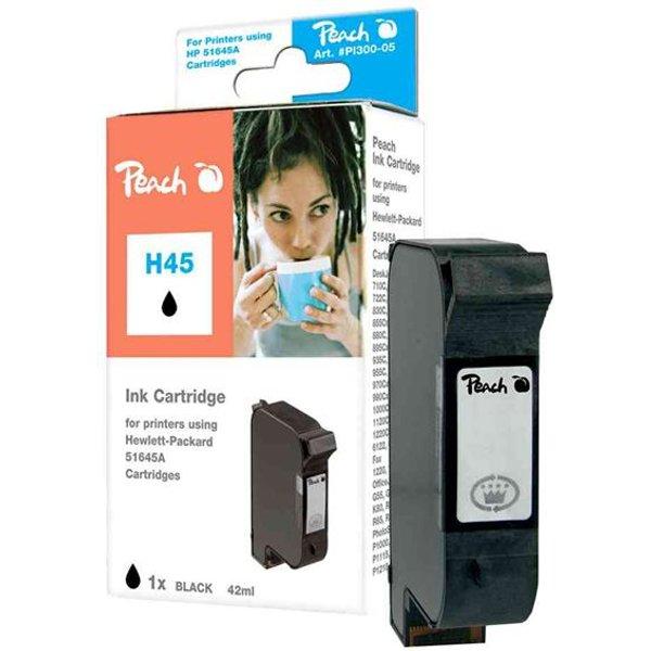 cartouche d'encre hp rechargé pour DeskJet, noir Contenu: 25 ml, capacité: env. 600 pages, groupe 993 compatible avec OEM-No. C6615D/No.15 (00310777 / PI3