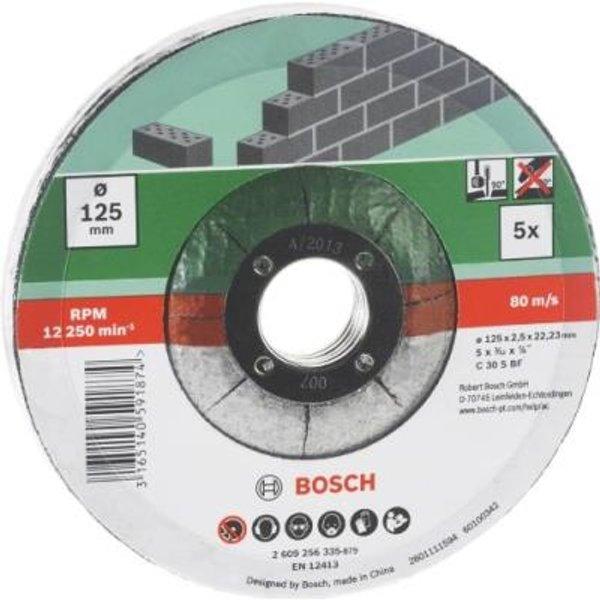 Bosch Accessories C 30 S BF 2609256334 Trennscheibe gekröpft 115mm 22.23mm 5St