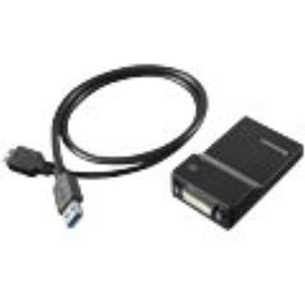 LENOVO Adaptateur USB-A/DVI, VGA (0B47072)