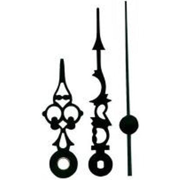 Set d'aiguilles noir antique 51x76x70 S33307