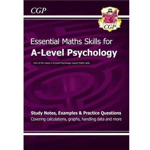 New A-Level Psychology: Essential Maths Skills (Paperback)