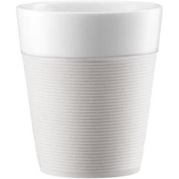 BODUM Kaffeetasse Bistro Creme 3 dl, 2 Stück (11582-913)