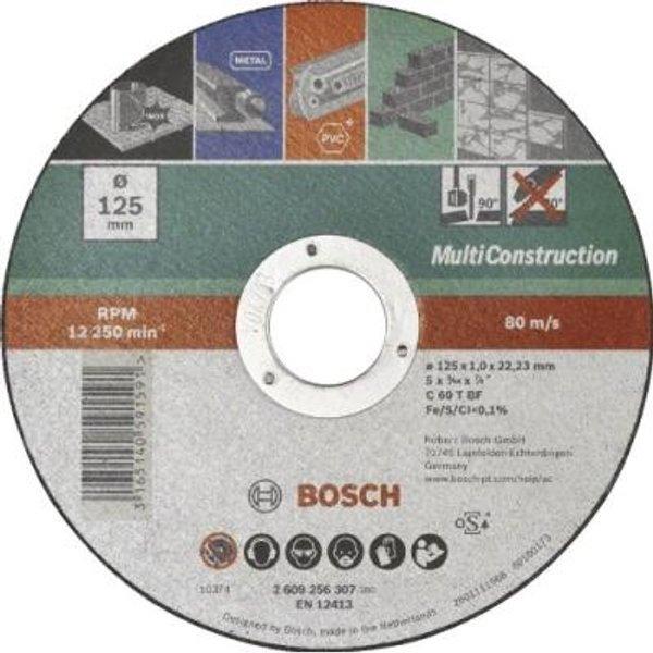 Bosch Accessories ACS 60V BF 2609256307 Trennscheibe gerade 125mm 22.23mm 1St
