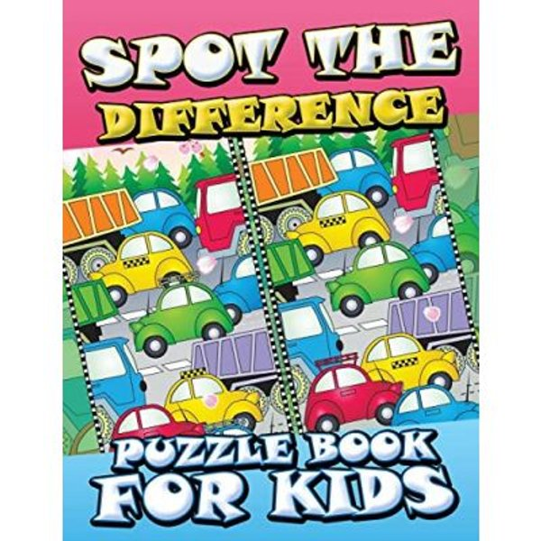 Spot the Difference Puzzle Book for Kids by Speedy Publishing LLC