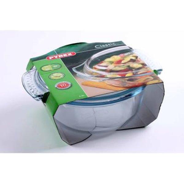 Pyrex Round Glass Casserole Dish 3.5Ltr (51003)