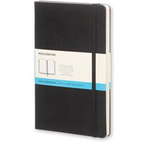 Moleskine Large Dotted Notebook Hard Black