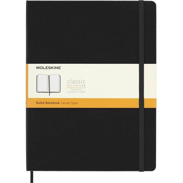 Moleskine Extra Large Ruled Notebook Hard Black