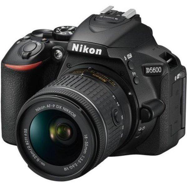 Nikon D5600 Kit AFP 18-55mm VR Lens
