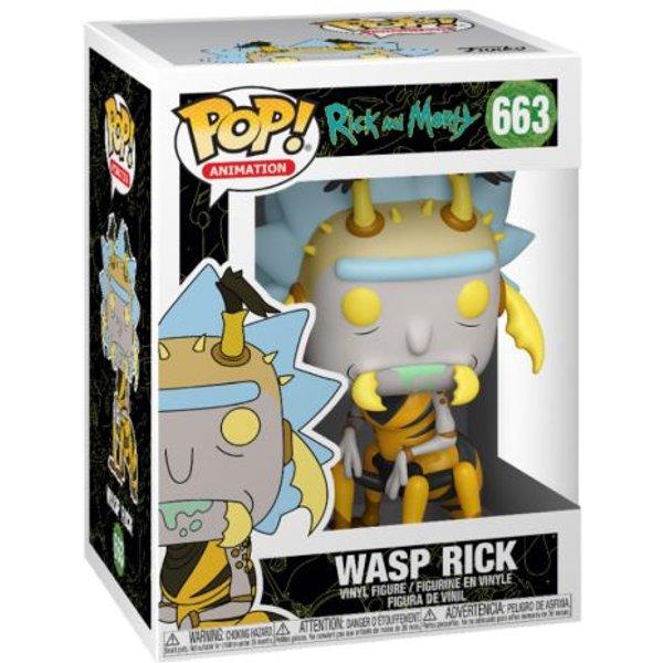 Figurine Pop! Rick Guêpe - Rick Et Morty