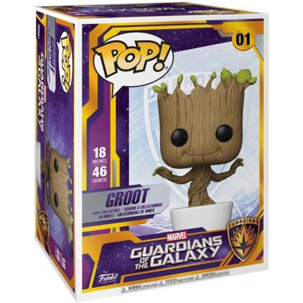 Figurine Funko Pop Supersized 45 cm Groot Dansant Les Gardiens de la Galaxie