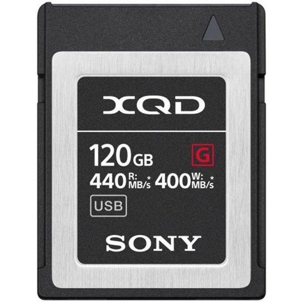 Sony XQD Card 120Gb Qdg120F 440MB/s carte mémoire