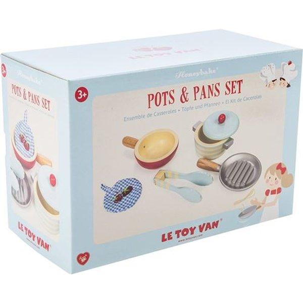 Le Toy Van Pots and Pans
