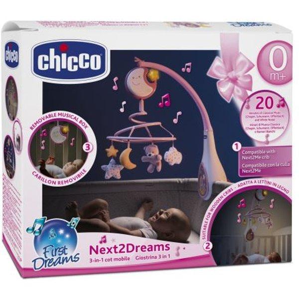 Jeu d'éveil Chicco Mobile Next2Dreams Rose (7627100000)