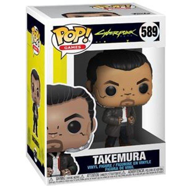 Figurine Pop! Takemura - Cyberpunk 2077