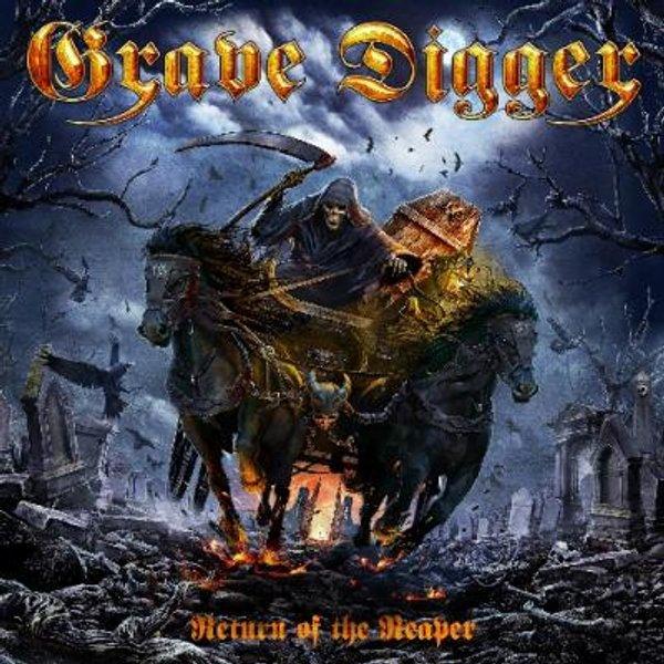 Grave Digger Return of the reaper CD standard