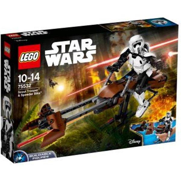 Vélo LEGO Star Wars Scout Trooper & Speeder (75532)