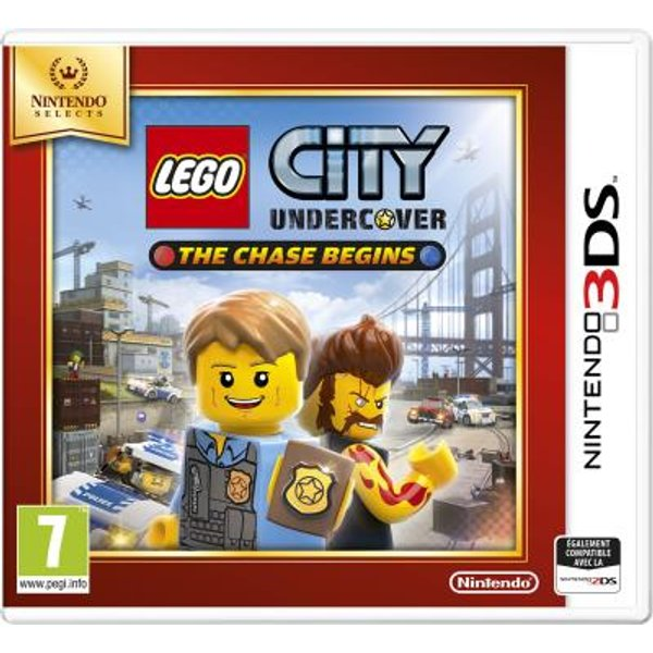 3DS - LEGO City: Undercover - The Chase Begins /F