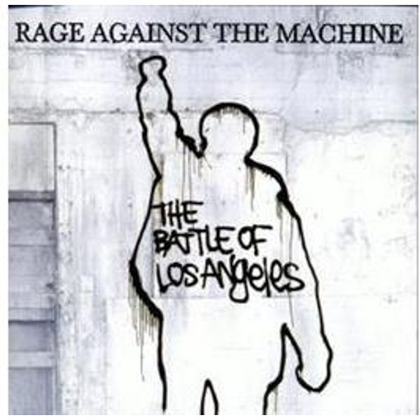 Rage Against The Machine The battle of Los Angeles CD Standard