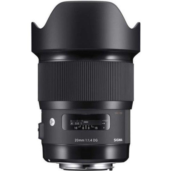 SIGMA Art | N-AF 20mm F1.4 DG HSM Objectif (Noir)