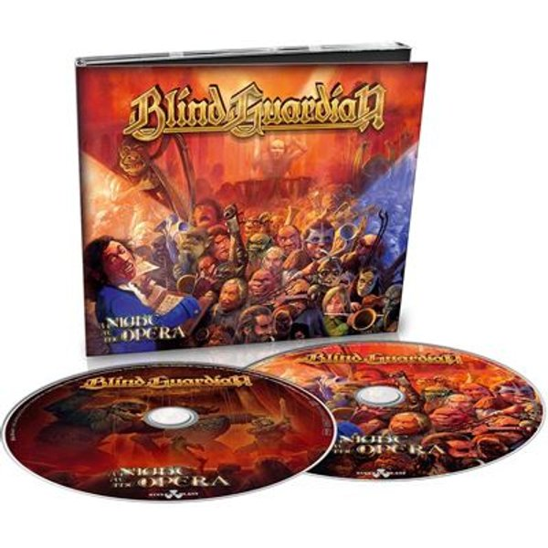 Blind Guardian A Night At The Opera 2-CD Standard