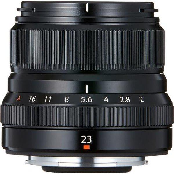 Fujifilm Fujinon XF 23mm F2 R WR schwarz Objektiv