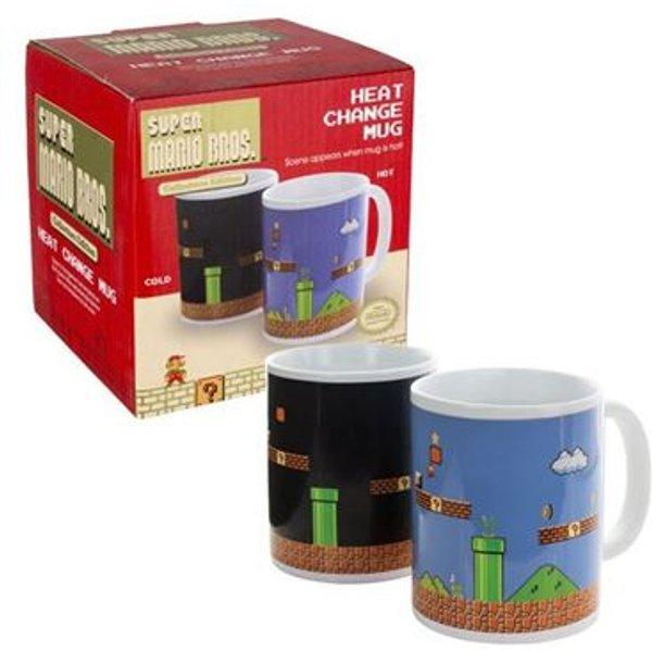 Mug - Nintendo - Super Mario Bros - Heat Change