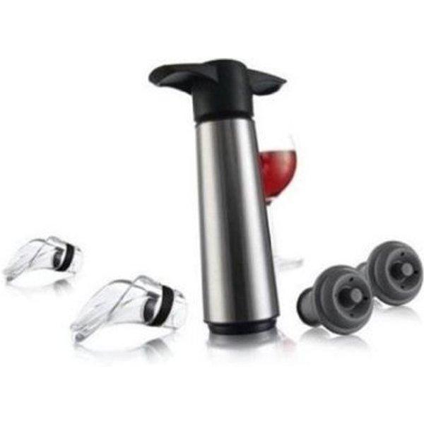 VACUVIN Wine Saver CONCERTO Set - Plastique - Inox