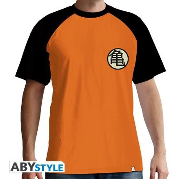 Dragon Ball Z - Symbole Kame T-shirt orange/noir