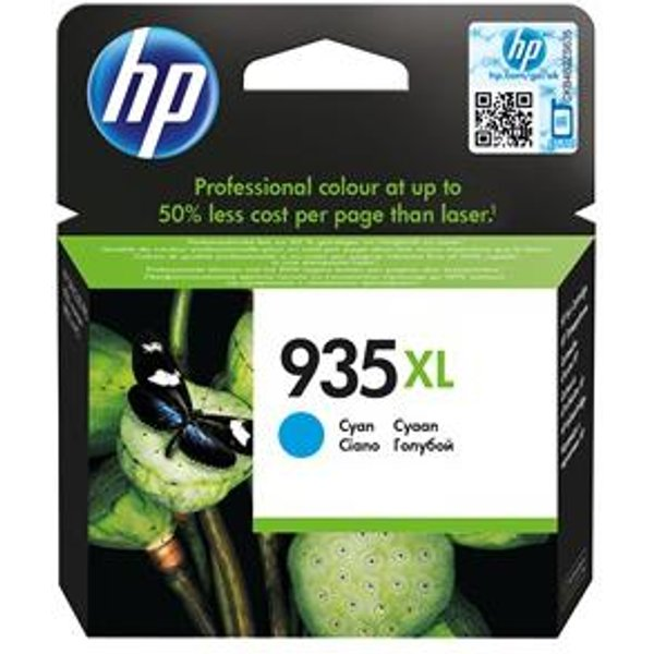HP 935XL, Original, Hohe Kapazität, Cyan, C2P24AE