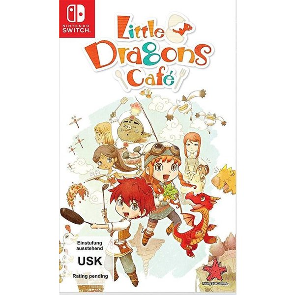 NSW - Little Dragons Cafe (F) Box (683619)
