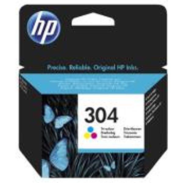 Original Druckerpatrone HP 304 XL Color - N9K07Ae