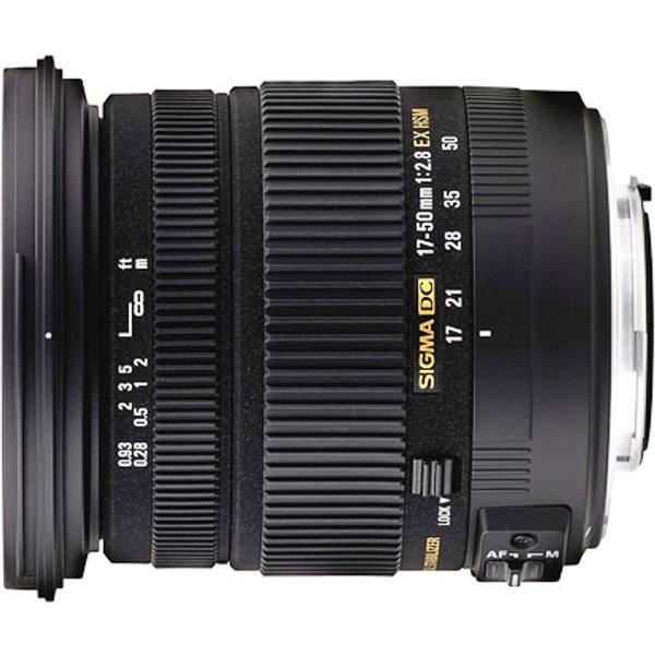 Sigma Objektiv AF 17-50mm 2.8 EX DC OS HSM für Nikon