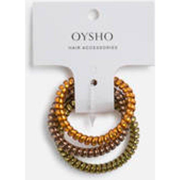 Oysho - 3 chouchous spirales - 1